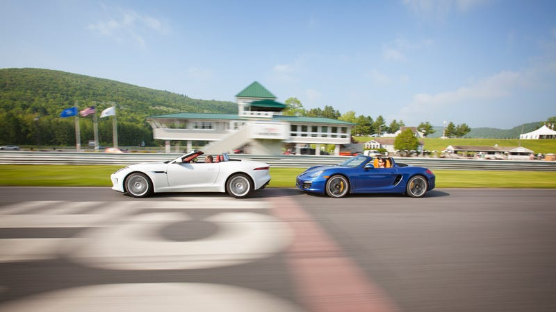 Illustration for article titled 2014 Jaguar F-Type S: Exclusive first instrumented test!