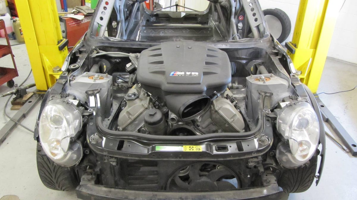 These Wonderful Madmen Stuffed A BMW V8 Into The Front Of A Mini