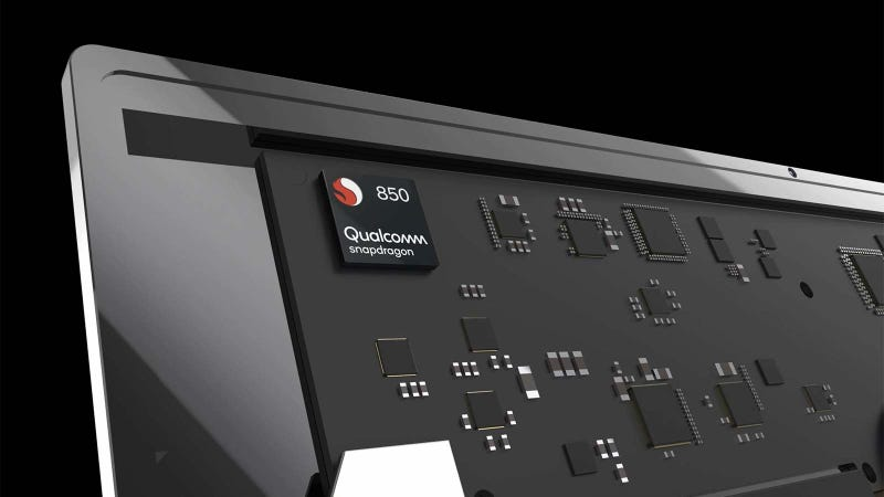 Illustration for article titled Qualcomm Teases Its First Chip Built Just for Laptops