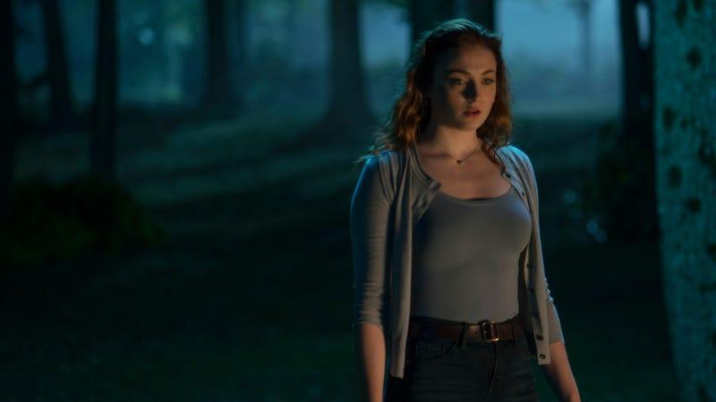 Jean Grey (Sophie Turner) is the main event in Dark Phoenix.