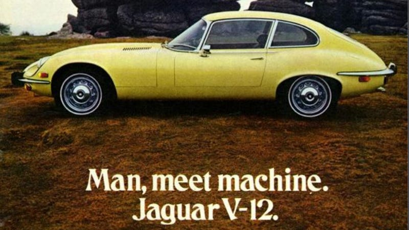 Illustration for article titled Jaguar Ads Are A Gallery For Fine Cars