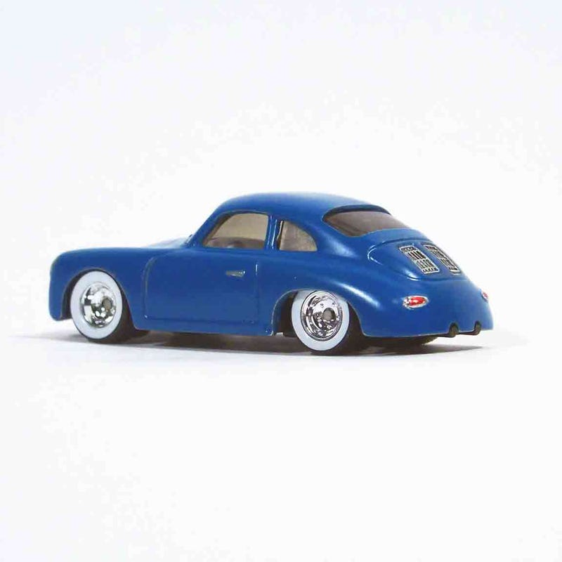 Illustration for article titled LALD Car Week: Teutonic Tuesday 1/64 Scale Hot Wheels Porsche 356 Outlaw