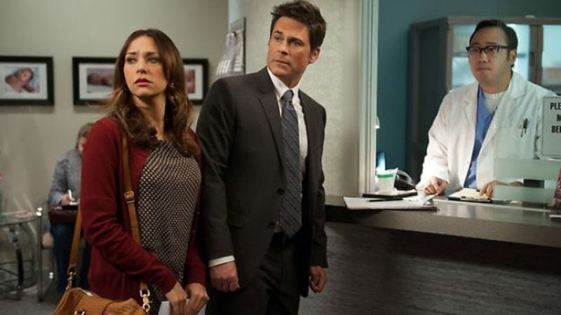 Illustration for article titled Rob Lowe and Rashida Jones are literally leaving Parks And Recreation
