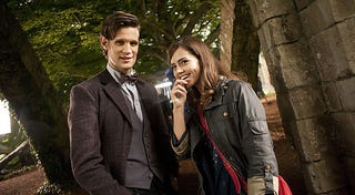 Illustration for article titled Doctor Who — the Doctor and Jenna Picture