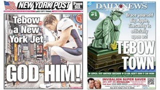 Illustration for article titled Tim Tebow Is In New York, And That's Good News For Everyone