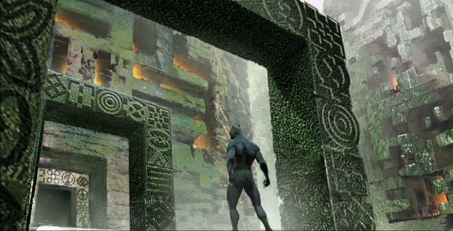 new concept art shows off black panther s wakanda and thor ragnarok s villain hela