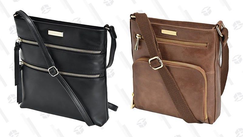 Estalon Leather Crossbody Purse | $25-$26 | Amazon