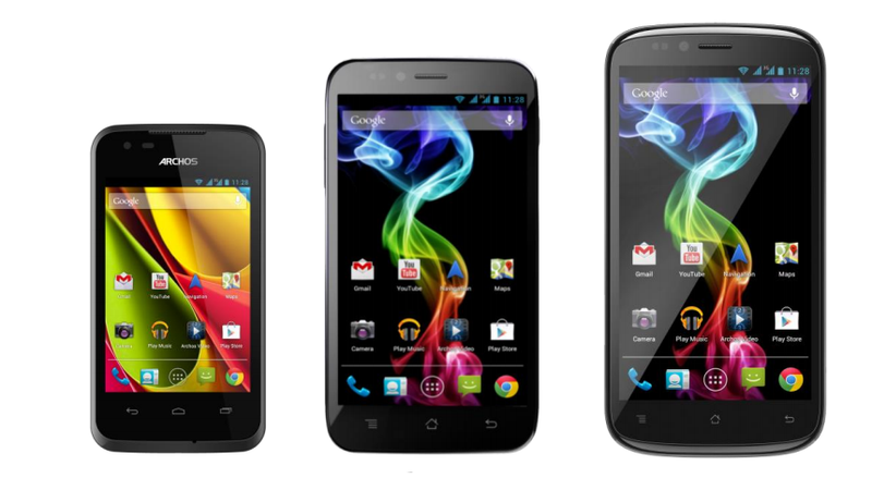 Illustration for article titled These Cheap and Cheerful Archos Smartphones Run Stock Android and Start at $120