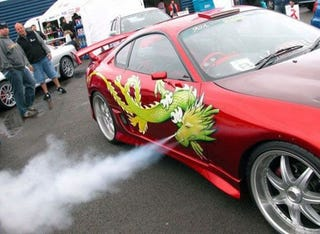 Illustration for article titled Toyota Supra Takes Dragons To Whole New Level
