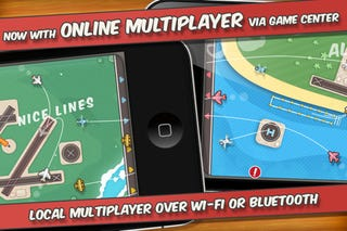 Illustration for article titled Flight Control for iPhone Gets Updated With Online Multiplayer And Voice Chat