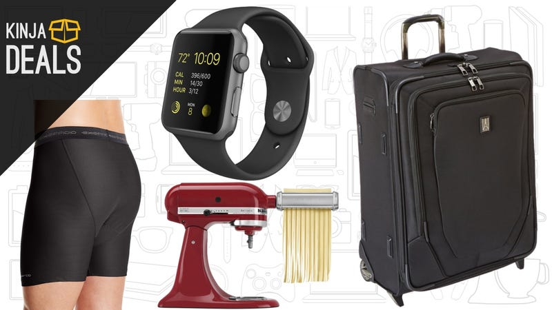Illustration for article titled Today's Best Deals: Travelpro Luggage, $100 off Any Apple Watch, and More