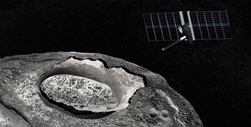 NASA Is Actually Going to Visit That Insane Metallic World