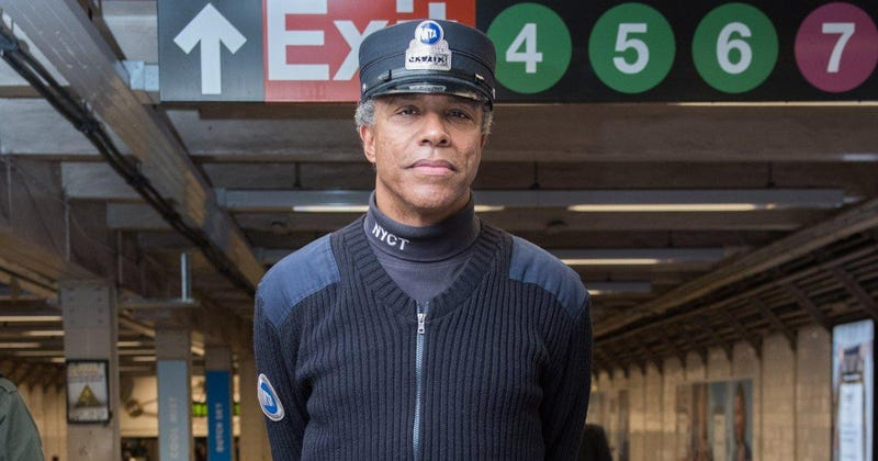 New York City subway conductor Warren CoxTwitter