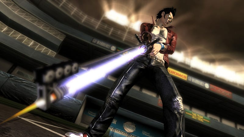 Illustration for article titled No More Heroes For PS3 Boasts Big Beam Katanas