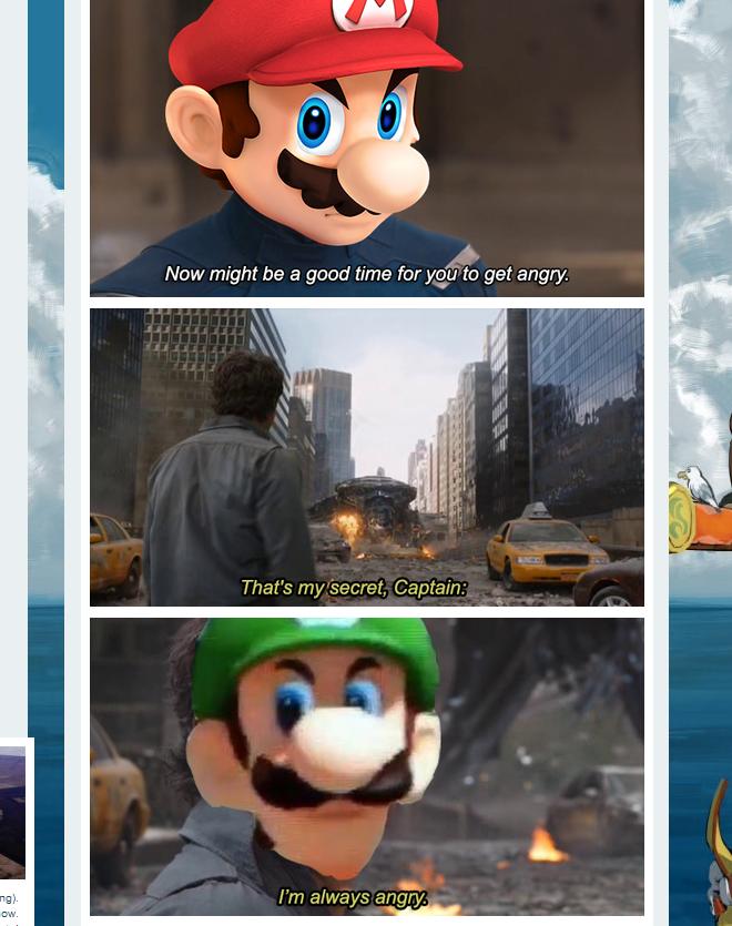 The Internet Reacts To Luigi S Death Stare