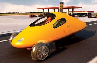 Illustration for article titled Aptera Concept Car: 330mpg, Under $20K
