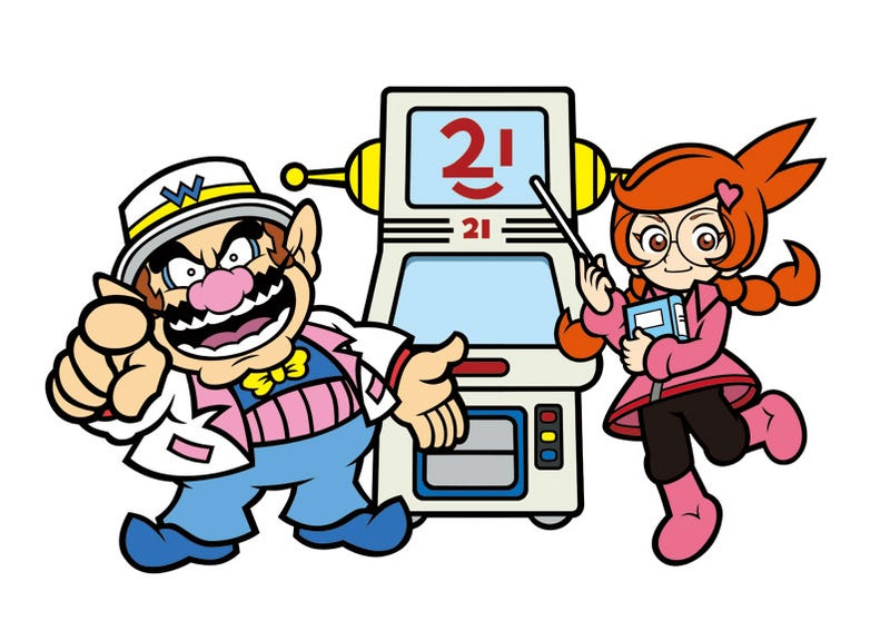 Illustration for article titled WarioWare Do-It-Yourself Art