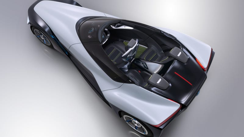 Illustration for article titled Nissan Bladeglider Concept: Leading Edge EV Technology Drives The Future
