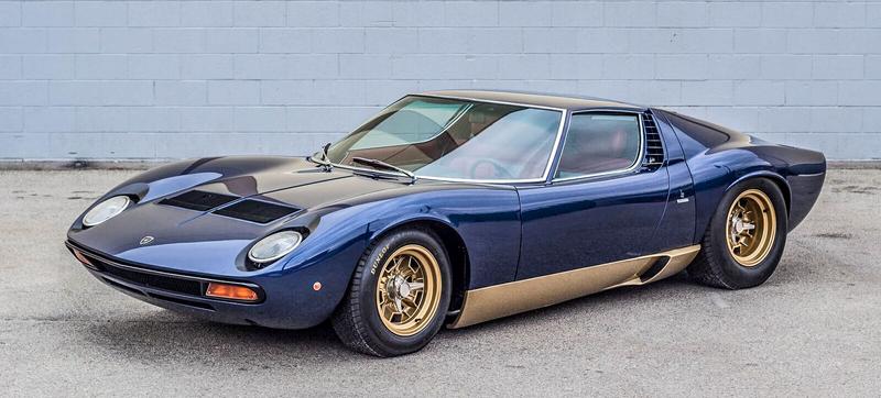 Adam Carolla's Insanely Rare Vintage Lamborghini Collection Is For ...