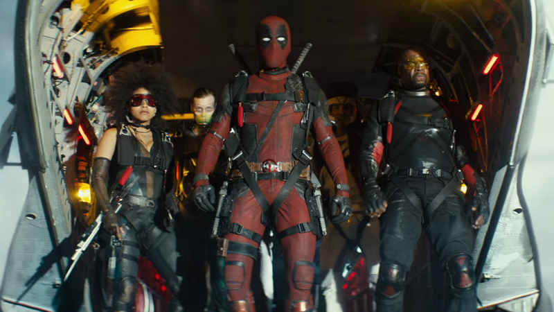 Deadpool 2's version of the X-Force in action.