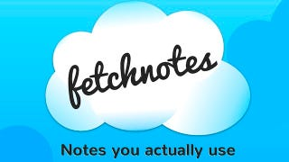 Illustration for article titled Fetchnotes Makes Taking and Organizing Notes Simple and Easy