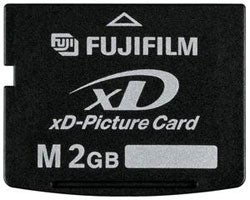 Illustration for article titled Fujifilm 2GB xD-Picture Card
