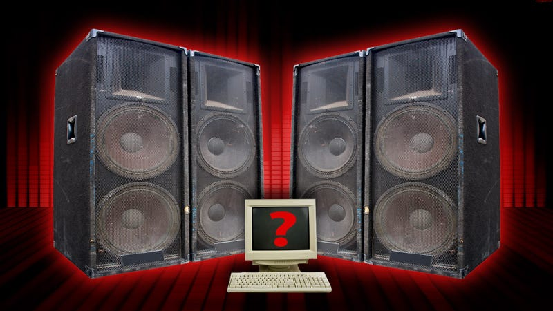 what kind of speaker setup do you have on your computer