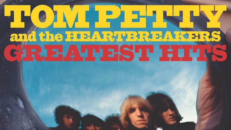 Cover art for the reissue of Tom Petty and the Heartbreakers' Greatest Hits (Photo: UMe)