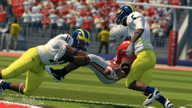 Illustration for article titled NCAA to Stop Licensing Games, but EA Sports' College Title Isn't Dead