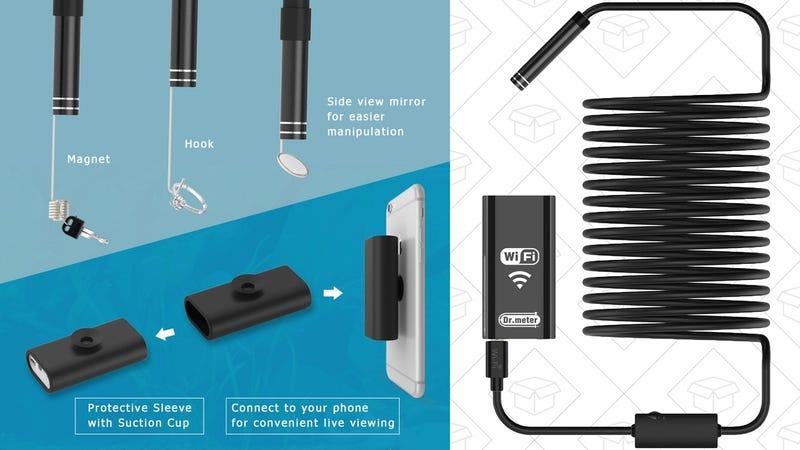 Wi-Fi Endoscope | $19 | Amazon | Promo code IYUKEKUB
