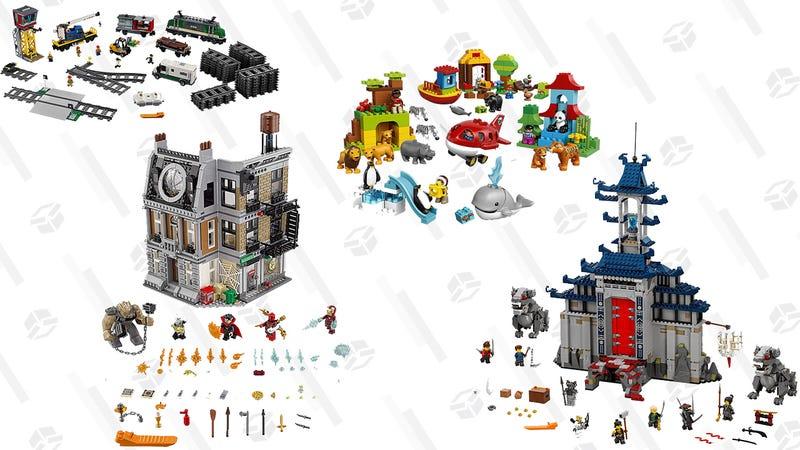 LEGO Gold Box at Amazon