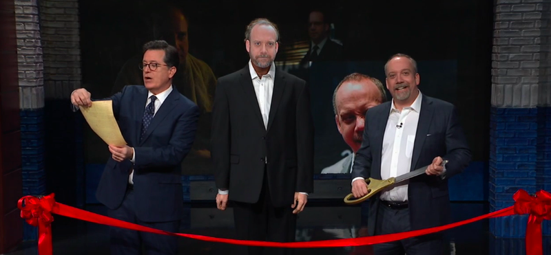 Stephen Colbert, Paul Giamatti, Paul Giamatti