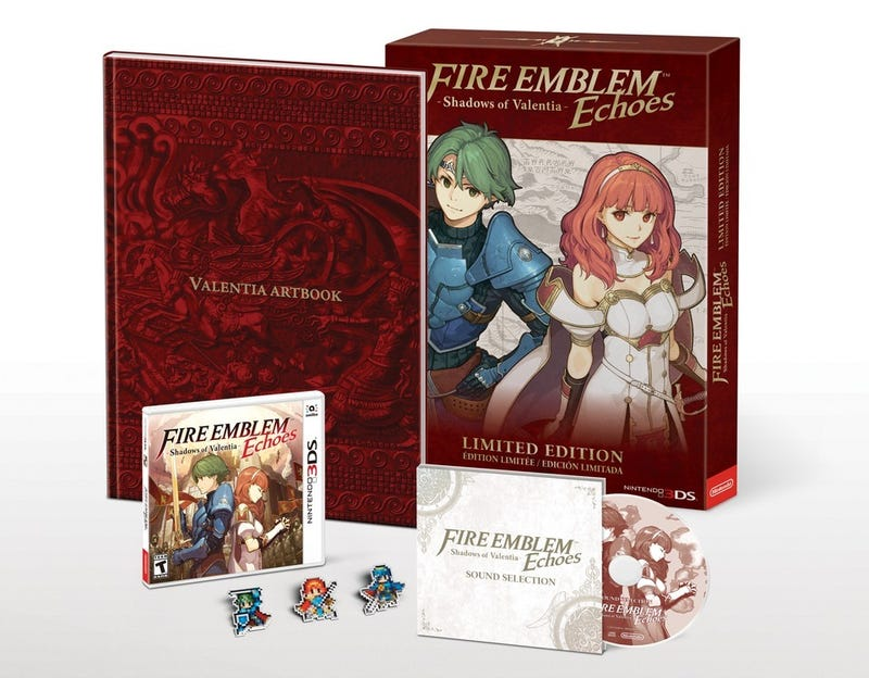 Illustration for article titled Fire Emblem Echoes: Shadows of Valentia gets Limited Edition