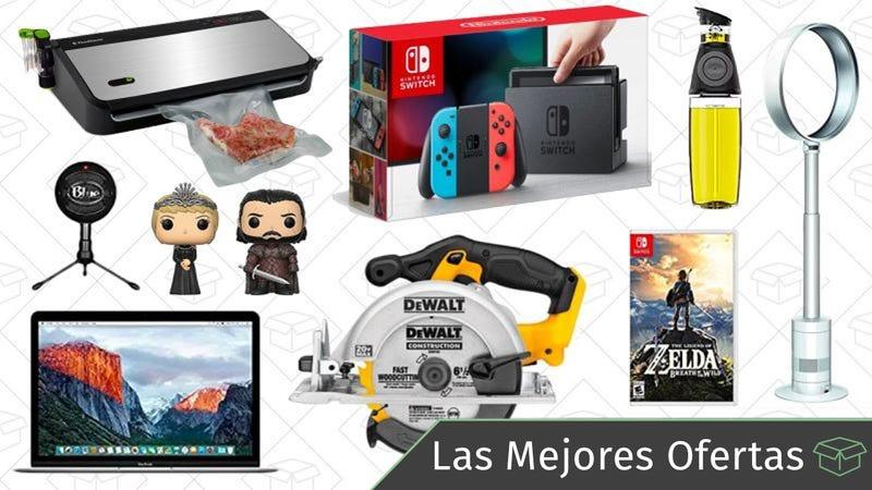 Illustration for article titled Las mejores ofertas de este miércoles: Nintendo Switch rebajada, herramientas DEWALT, MacBooks y más