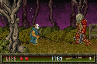 Illustration for article titled New Splatterhouse Also Throws In The Original 16-bit Trilogy