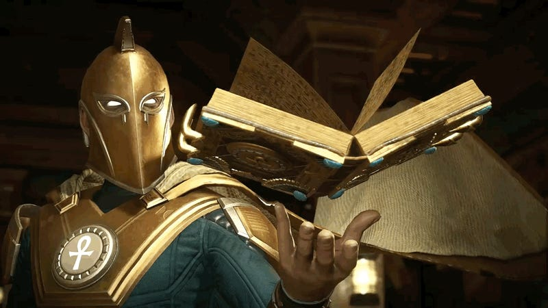 Dr Fate revealed for Injustice 2 in new trailer