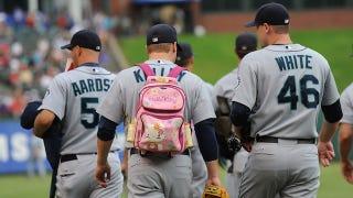 Illustration for article titled The Politics Of Baseball's Little Pink Backpacks