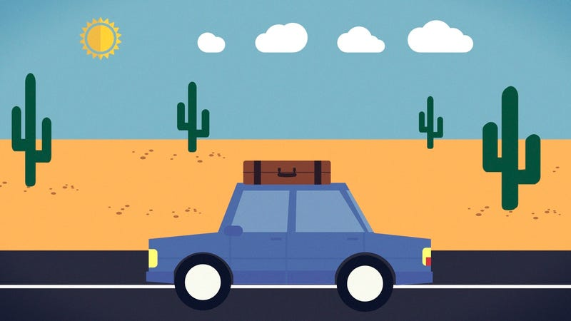Illustration for article titled How to Survive Long Road Trips Without Going Crazy