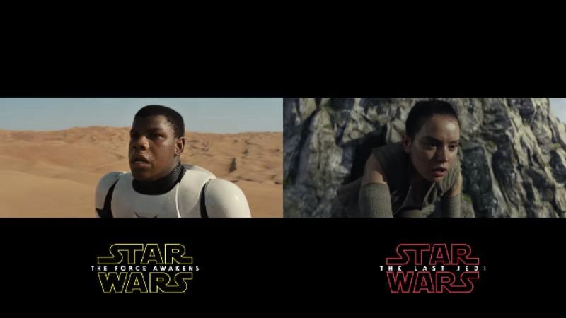 Illustration for article titled The Last Jedi trailer sure does look a lot like The Force Awakens trailer