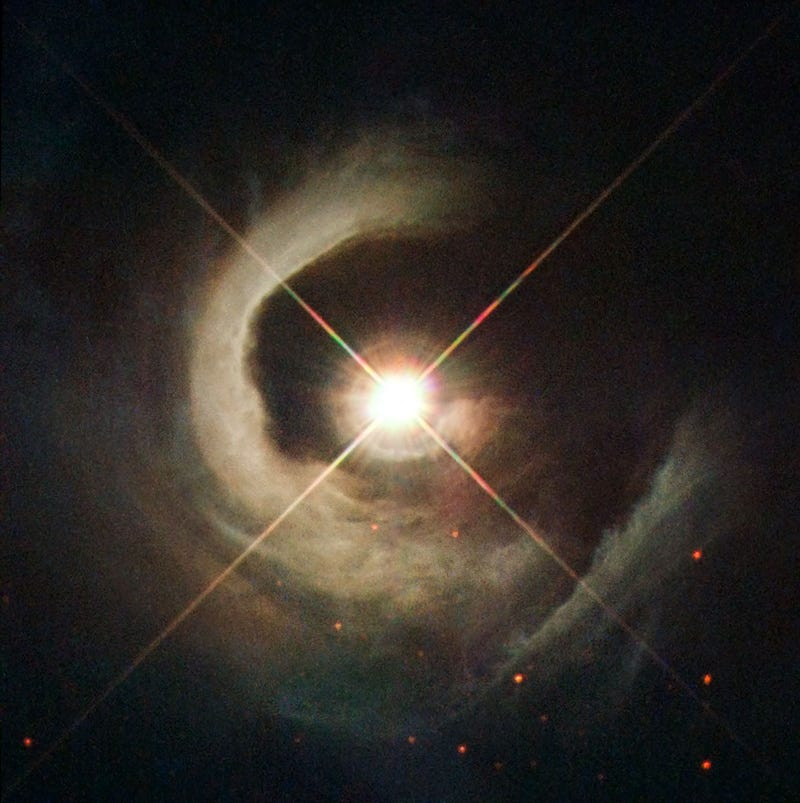 Illustration for article titled Spectacular new photo of a very special star