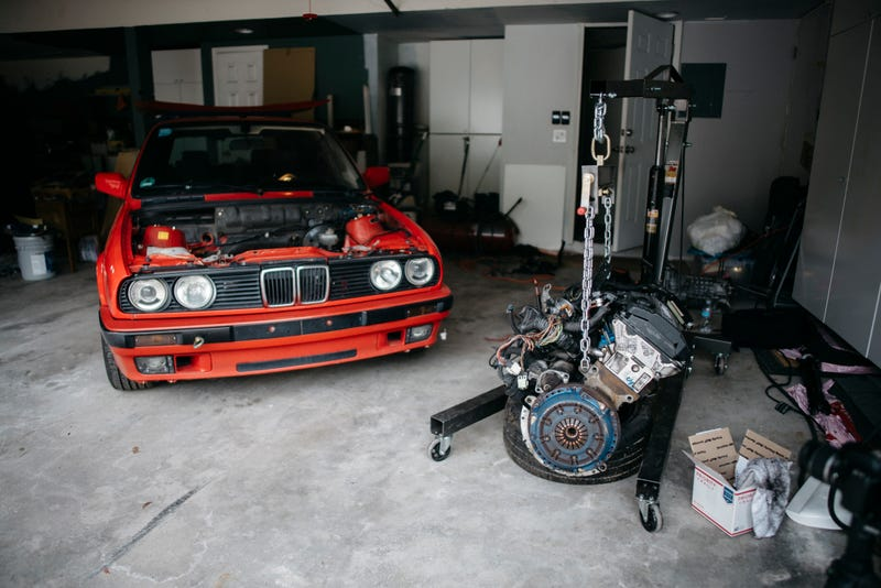 Illustration for article titled Swapping an M3 motor into an E30 Wagon