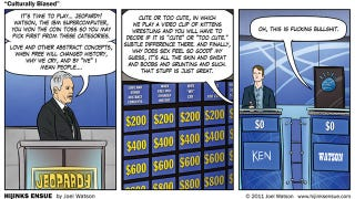 Illustration for article titled A Jeopardy! Board That Would Bring Watson To Its Knees