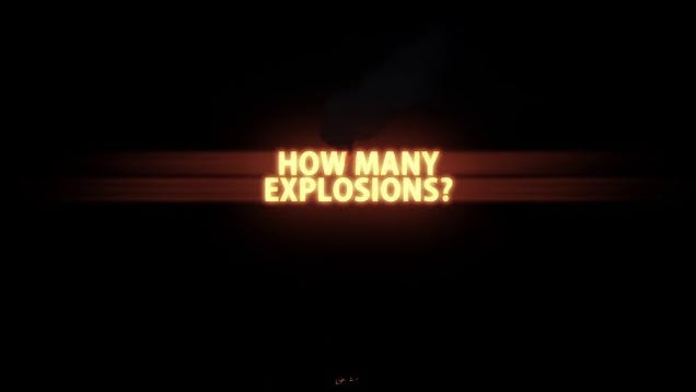 guess how many explosions are in the first transformers movie. Black Bedroom Furniture Sets. Home Design Ideas