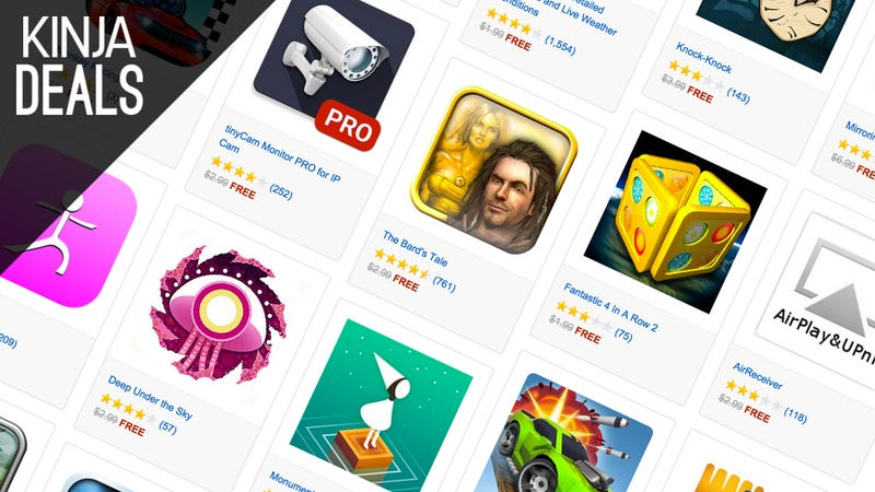 Illustration for article titled Amazon's Giving Away Over $50 Worth of Android Apps and Games Today