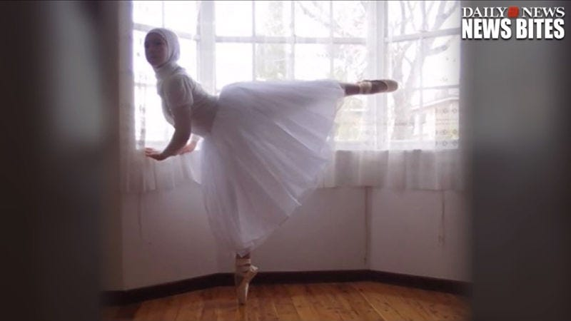 Illustration for article titled Australian Teen Wants to Be the First Hijab-Wearing Ballerina