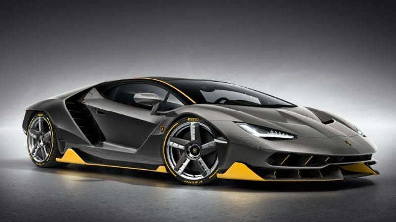The New Lamborghini Centenario Will Be On The Cover Of The Next Forza Game