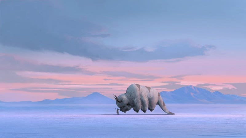 Concept art fro the Avatar reboot.