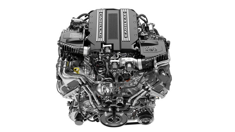 Illustration for article titled Looks like Cadillac's twin turbo V8 wont be wasted after all