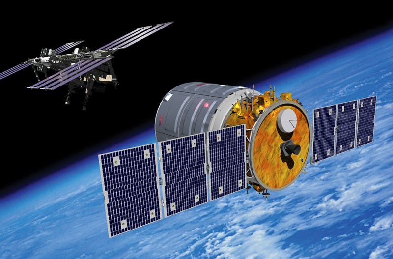 Illustration for article titled Cygnus rendezvous with ISS postponed until at least Saturday