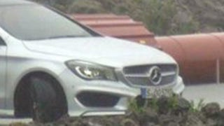 Illustration for article titled Mercedes A-Class Sedan: First Undisguised Pictures